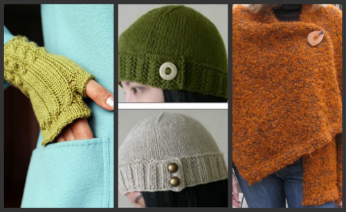 Three Great Free Knitting Patterns to Keep you Warm