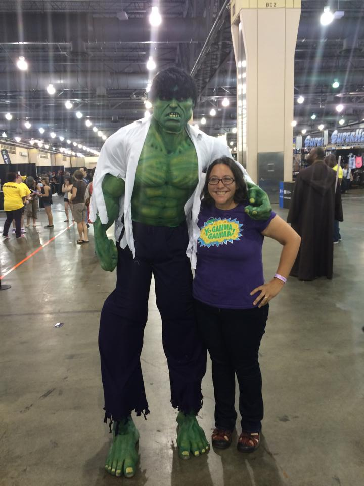 Hulking out at Wizard World Comic Con