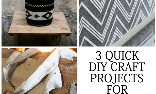 Best Home Decor DIY – 3 Quick DIY Craft Projects for Your Home.