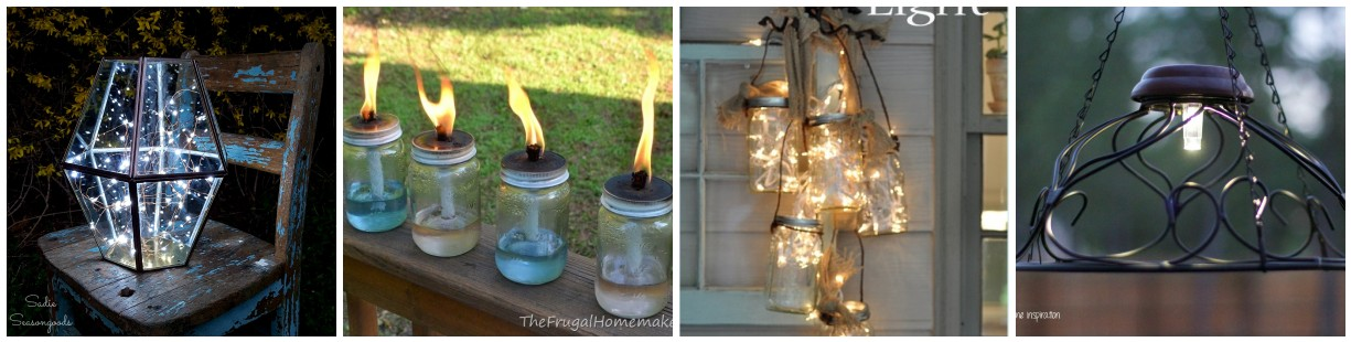 Friday Finds – Creative DIY Outdoor Lighting Ideas